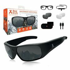 More details for bear grylls waterproof action camera glasses (bg-gls-1) with full hd 1080p