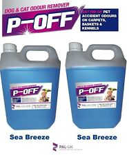 2 x 5L p-off animale domestico urina odore ODORE rimozione - Pipì faeces BISOGNI