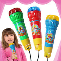Colorful Echo Microphone Mic Voice Changer Toy Birthday Party Song Toy Kids Gift