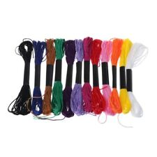 8m Embroidery Cross Stitch Thread Polyester Sewing Knitting Craft Tool 12 Colors