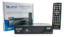 SINTONIZADOR TDT HD Reproductor DVB-T2 TDTy+ Biwond TDT2 . TDT ALTA DEFINICION