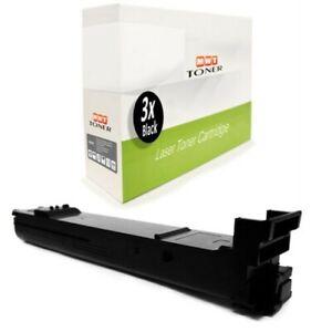 3x Toner Black For Konica Minolta Bizhub C-31-P C-30-PX C-31-PX C-30-P