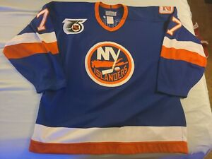 CCM Pierre Turgeon Authentic New York Islanders Isles Jersey 52 vintage 90s 9192