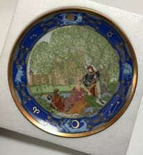 Hutschenreuther Germany The Minstrel Song Love For All Seasons Limited Ed. Plate