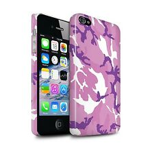 STUFF4 Gloss Phone Case for Apple iPhone Phones/Camouflage Army Navy/Cover