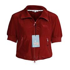 Y-3 YOHJI YAMAMOTO x ADIDAS $315 cropped red Y3 cheerleader track jacket M NEW