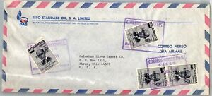 GP GOLDPATH: NICARAGUA COVER 1971 ROTARY AIR MAIL _CV712_P13
