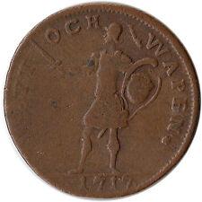 1717 Sweden 1 Daler Coin Carl XII Emergency Issue KM#355 Mintage 905 K