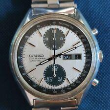 Vintage Chronograph watch SEIKO 6138 8020 PANDA excellent condition all original