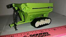 1/64 ERTL custom Parker 1000 bu. grain cart  wagon on tracks farm toy free ship!
