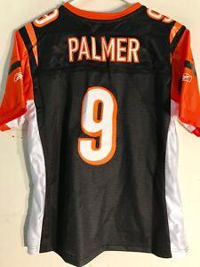 Reebok Women's Premier NFL Jersey Cincinnati Bengals Carson Palmer Black sz L