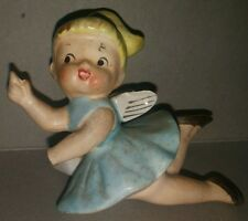 Napkin Ring Porcelain girl with wings made in japan