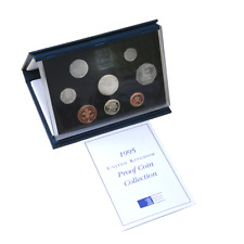 1995 Royal Mint UK Coinage 8 Proof Coin Collection