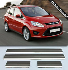 Ford C-Max Mk2 (latest model) Stainless Steel Sill Protectors / Kick Plates