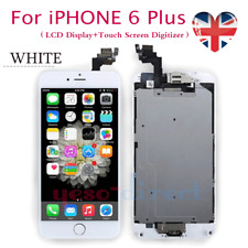 For iPhone 6 Plus LCD Touch Display Screen Replacement + Home Button White 5.5''