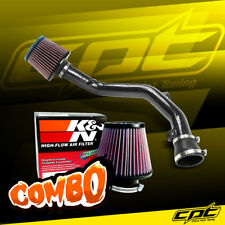 99-05 VW Golf GTI VR6 V6 2.8L Black Cold Air Intake + K&N Air Filter