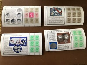 GB  1983 Royal Mint prestige BOOKLET PANES  DX4