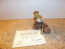 Lenox Garden Bird Collection 1991 Golden Crowned Kinglet