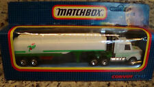 1987 Matchbox Convoy Super Rigs Diet 7UP 7-UP Cola Scania Semi Tanker Truck CY17