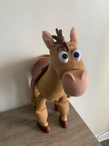 "Disney Store Toy Story 18"" Interactive Bullseye Plush Galloping Sounds"