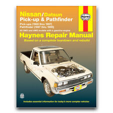 Haynes Repair Manual for 1980-1986 Nissan 720 - Shop Service Garage Book qr