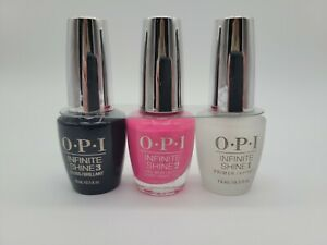 OPI Positive Vibes Only 3pc Infinite Shine Neon Collection:  V-I-Pink Passes