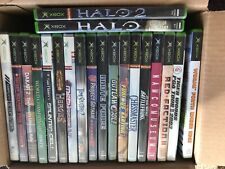 LOT OF 20 ASSORTED XBOX GAMES - COMPLETE - FREE SHIPPING