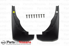 2005-2016 Nissan Frontier Pathfinder Front Set Mud Flap Splash Guard OEM NEW