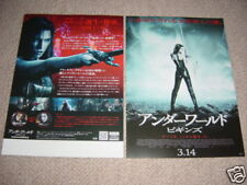 RHONA MITRA Japan flyer UNDERWORLD: Rise of the Lycans Michael SHEEN original 09