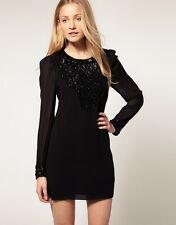 FRENCH CONNECTION evening dress REBECCA abito vestito donna 10 UK 42 IT BNWT