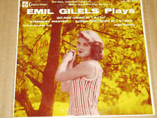 Emil Gilels Plays LP SEXY Cover 50218