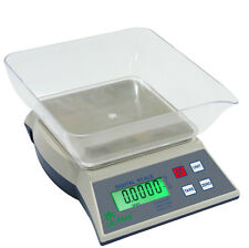Digital Bench Scale Tree KHR-3001 w/ AC Adapter 3000g x 0.1g Table Top Loader