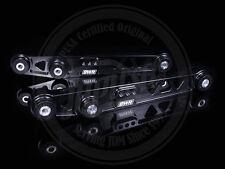 BLACKWORKS BWR REAR LOWER CONTROL ARMS LCA 96-00 HONDA CIVIC EK EM1 BLACK