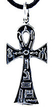 Ankh Anch égyptien Croix henkelkreuz Pendentif en argent sterling 925 N°32
