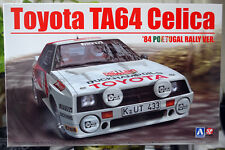 1984 Toyota Celica TA 64 Portugal Rallye 1:24 Aoshima Beemax 103142