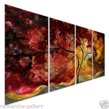 Megan Duncanson Passionate Light Contemporary Metal Wall Art Modern Home Decor