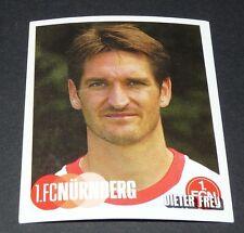395 DIETER FREY 1. FC NÜRNBERG PANINI FUSSBALL 2002-2003 BUNDESLIGA FOOTBALL