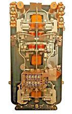 Ancien compteur électrique triphasé EDF Landis Gyr 1931 collection déco vintage