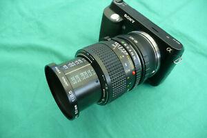 Für Sony NEX Minolta MD Macro 3,5/50mm bis M1:1 TOP!