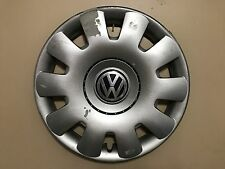 "VW VOLKSWAGEN JETTA GOLF 15"" GENUINE OEM HUBCAP WHEEL COVER 1J0 601 147 P OEM"