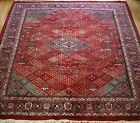 INDO-JOSHAGHANN HAND KNOTTED WOOL ORIENTAL RUG HAND-WASHED 9 x 12