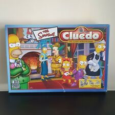 The Simpsons Cluedo Board Game 2001 Edition by Hasbro Complete