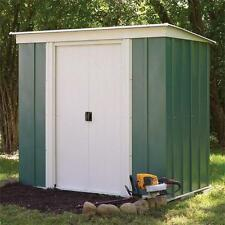 Rowlinson 8x4 Greenvale Metal Pent Shed