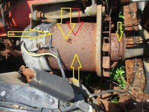 62 63 64 GALAXIE MARAUDER GENERATOR CORE TO BE REBUILT OR PARTS FORD MERCURY