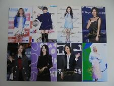 Girls Generation Yoona All Member Signed 8 Photos 4x6 Autographed USA SELLER 12