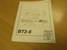 BT2-8 Monaco Building TransceiverInstallation /Maintenance Manual.
