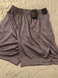 Jordan Brand Mens XL Basketball Shorts Michael Chicago Bulls Nike NBA Gray NWT