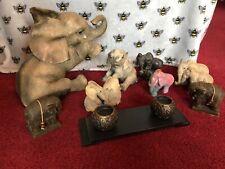 More details for 🐘 tuskers / leonardo 🐘 large elephant ornament bundle - good-vgc / collection