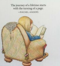 Mary Engelbreit Handmade Magnets-The Journey Of A Lifetime Starts