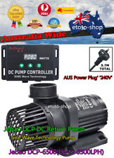 Jebao DCP-6500 DC Marine Circulation Water Pump & Controller Quite Sine Wave